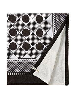 Nomadic Thread Swahili Towel, Black/ White