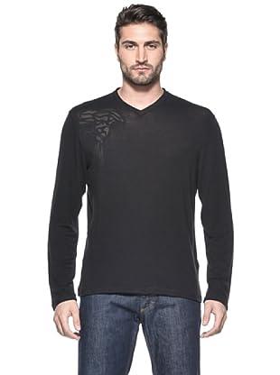 Versace Collection Camiseta Lako (Negro)