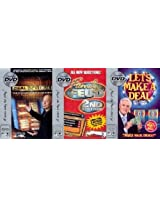 Deal No Deal Family Feud 2nd Edition Lets Make A Deal DVD Game Bundle