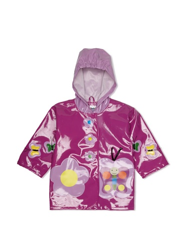 Kidorable Butterfly Raincoat (Purple)