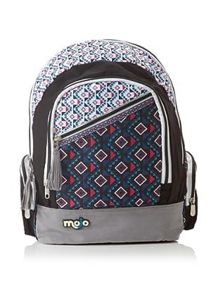 Mojo Mohawk Backpack, Blue/White/Pink
