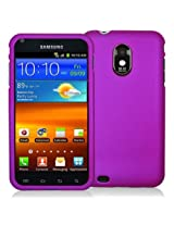 DECORO CRSAME4GTPP Premium Protector Case for Samsung D710/Epic 4G Touch/R760 (Galaxy S ll) - 1 Pack - Retail Packaging - Rubber Purple