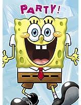SpongeBob SquarePants Invitations, 8ct