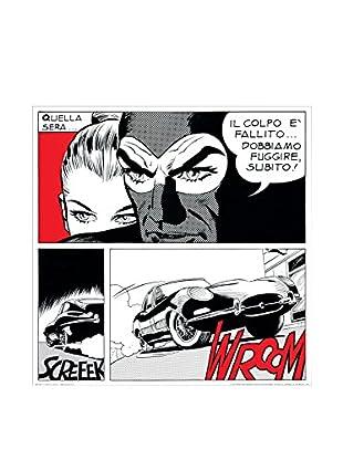 ArtopWeb Panel de Madera Astorina Il Colpo È Fallito! 50X50