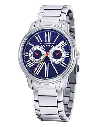 Adolfo Dominguez Watches 69101 - Reloj de Señora cuarzo brazalete metálico dial Azul