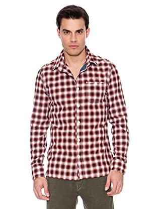 Pepe Jeans London Camisa Command (Rojo / Blanco / Marino)