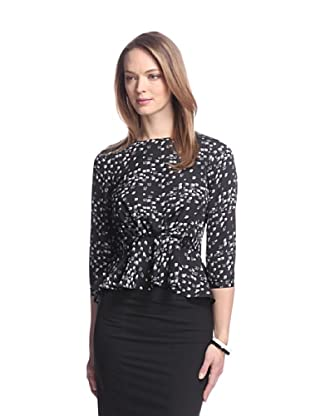 Aijek Women's Sparrow Peplum Blouse (Sparrow)