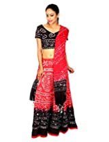 Rajrang Vintage Cotton Cambric Sequins Work Ethnic Red Lehenga Choli