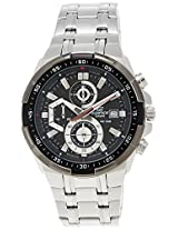 Casio Edifice Stopwatch Chronograph Black Dial Men's Watch - EFR-539D-1AVUDF (EX191)