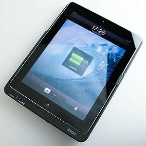 【クリックで詳細表示】【大特価】iPad iPad2用 超大容量バッテリー 8000mAh あなたのiPadの使用時間をなんと2.2倍に!! バッテリーカバーケース!