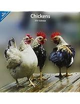 Chickens 2014 Wall Calendar