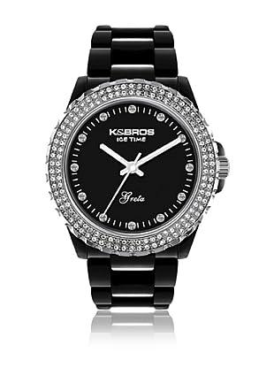K&Bros  Reloj 9552 (Negro)