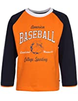 Ollypop T-Shirt Full Sleeves - Baseball Print