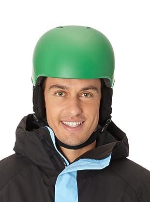 Red Casco De Esquí Y Snowboard Hi-Fi (Verde)