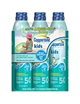 Coppertone Kids Continuous Spray 50SPF - 3/7.5oz. Cans