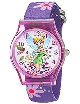 Disney Kids' W001968 Tinker Bell Analog Display Analog Quartz Purple Watch