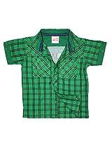 FS Mini Klub Boys' Green Shirt