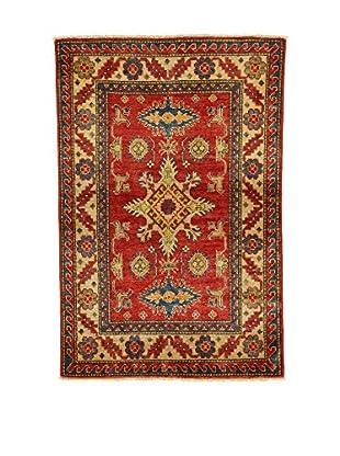 L'EDEN DEL TAPPETO Alfombra Uzebekistan Rojo/Multicolor 97 x 146 cm