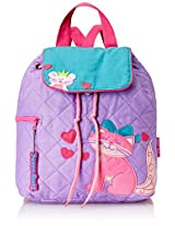 Stephen Joseph Little Girls' Quilted Backpack, Cat, One Size