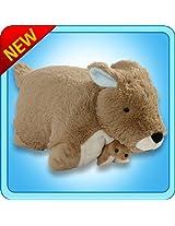 My Pillow Pets Kangaroo and Baby Plush,