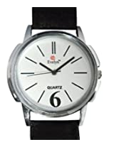 Evelyn Analogue White Dial Men's Watch - W-027