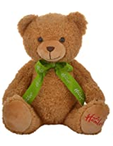 Hamleys Macaroon Teddy Bear Soft Toy, Brown (17cm)