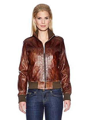 Bruno Banani Lederjacke (Brown)