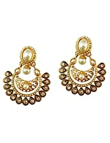 Lalso Special Offer Designer Ethnic Bollywood Danglers Bridal Wedding Jewellery Earrings-LFER020