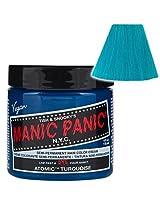 Manic Panic Atomic Turquoise Hair Dye 4 fl oz by USA