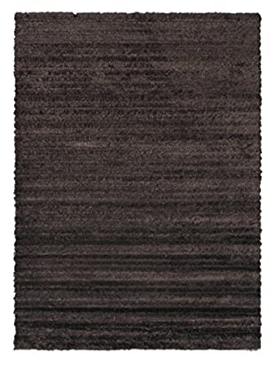 Moda Shag Rug, Dark Brown, 5' 4