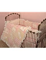 Cotton Tale Designs Heaven Sent Girl 4 Piece Crib Bedding Set