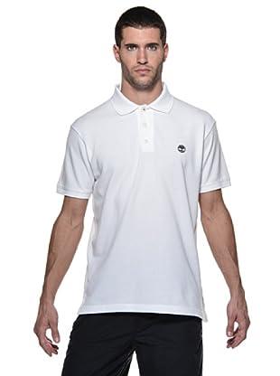 Timberland Polo Liso (Blanco)