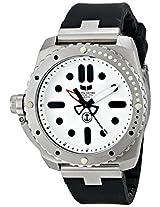 Vestal Men's RED3S01 Restrictor Diver 43 Silver White Watch