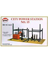 Model Power HO Scale Building Kit - City Power Station #15