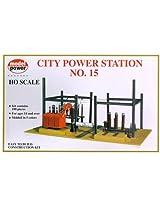 Model Power HO Scale Building Kit - City Power Station #15