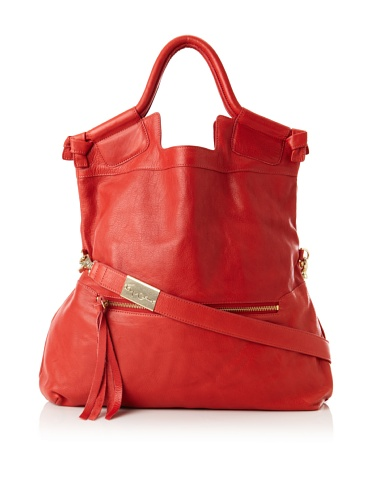 Foley + Corinna Women's Mid City Large Tote (Washed Red)