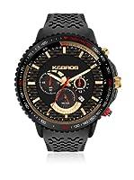 K&BROS Reloj 9459-1 Negro