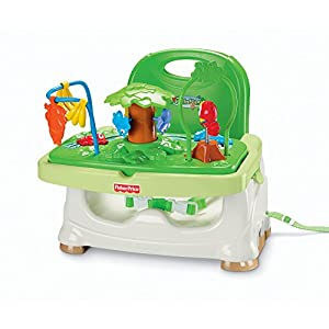 Fisher Price Rainforest Healthy Care Booster Seat, Multi Color