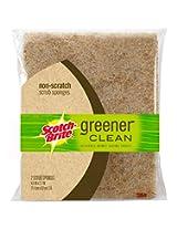 Scotch-Brite Greener Clean Non-Scratch Scrub Sponge, 2-pack