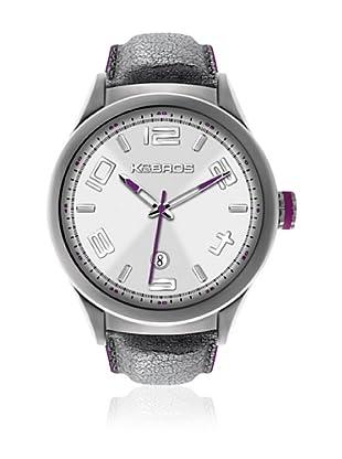 K&Bros Reloj 9456 (Plateado / Blanco)