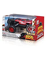 Remote Control 4 Wd Tri Band Off Road Rock Crawler Rtr Monster Truck Equipped With Two Motors And One Low Gearing Make For Rugged Off Road And Rock Climbing Action