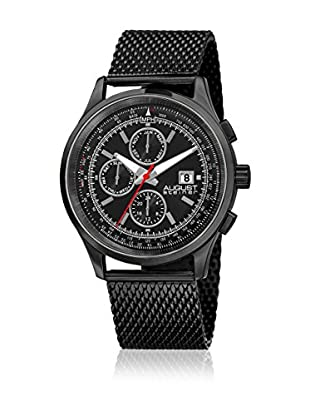 August Steiner Quarzuhr Man AS8194BK schwarz 42 mm