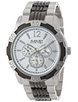 August Steiner Men's AS8058SS Quartz Multi-Function Sport Bracelet Watch