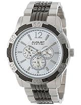 August Steiner Men's AS8058SS Quartz Multi-Function Sport Bracelet Watch