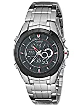 Casio Edifice Analog-Digital Black Dial Men's Watch - EFA-119BK-1AVDF (ED240)