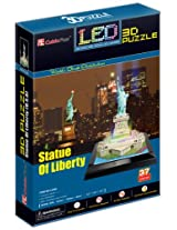 Frank Puzzles Led Architecture - Statue Of Liberty 3D - 37 Pieces