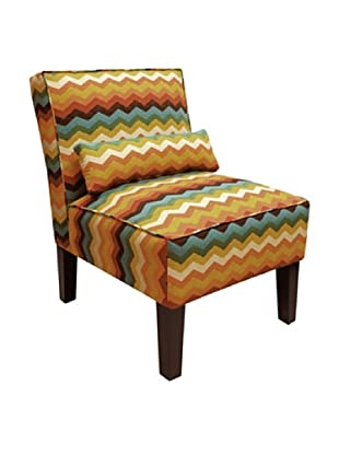 Skyline Armless Chair, Adobe