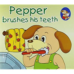 Pepper Brushes his Teeth