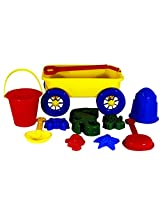 Water Sports Itza Beach Wagon Sand Toys Set