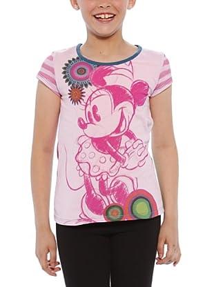 Desigual Camiseta Wisconsin (Rosa)